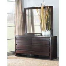 Fierro 6 Drawer Dresser with Mirror