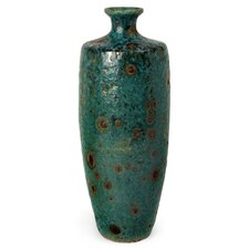 Ceramic Floor Vase in Blue