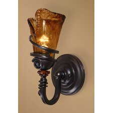 Soukaina 1 Light Wall Sconce in Oil Rubbed Bronze
