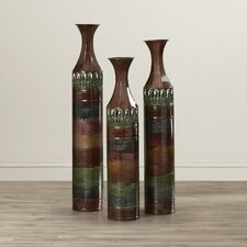 Hajek 3 Piece Floor Vase Set