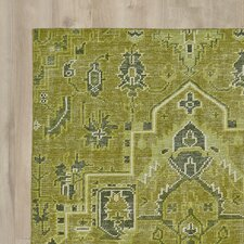 Aanya Hand-Knotted Avocado Area Rug