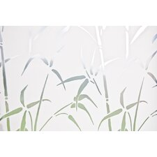 Walid Bamboo Cling Privacy Window Film
