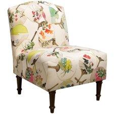 Aadhya Camel Back Slipper Chair
