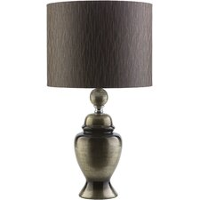 """Awad 24.75"""" H Table Lamp with Drum Shade"""