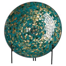 Mosaic Charger and Stand