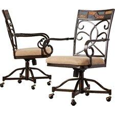 Zamudio Arm Chairs (Set of 2)