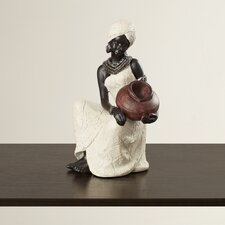 African Woman Figurine