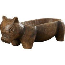 Pig Trough Figurine
