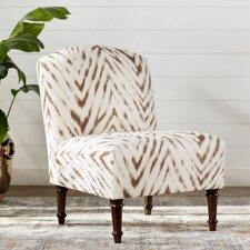 Situ Animal Print Slipper Chair