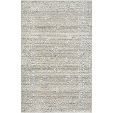 Amberson Hand-Knotted Gray Area Rug