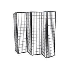 """70"""" x 102"""" Tejas Shoji 6 Panel Room Divider"""
