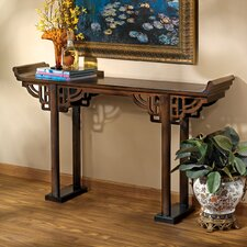"""32.5"""" Kale Solid Wood Console Table"""