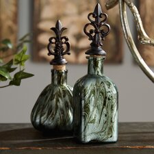 3 Piece Decorative Bottle Set