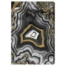 Adore Geo Graphic Art on Wrapped Canvas