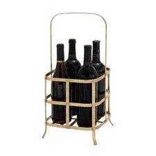 Eva 4 Bottle Tabletop Wine Rack