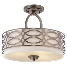 Ingo 3 Light Semi Flush Mount