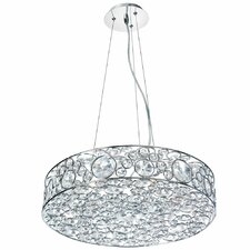 Langella 6 Light Crystal Pendant