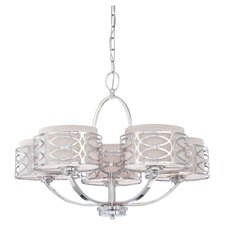 Ingo 5 Light Drum Chandelier