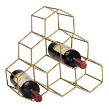 Antonio 6 Bottle Tabletop Wine Rack