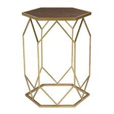 Ambrosia Hexagon Frame End Table