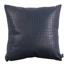 Paris Gator Throw Pillow