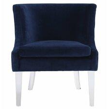 Amber Velvet Arm Chair