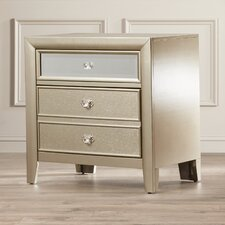 McKellen 2 Drawer Nightstand