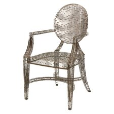Kooskia Handcrafted Metal Arm Chair