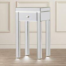 Milner Mirror End Table