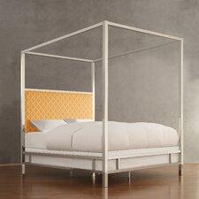 Windsor Upholstered Canopy Bed