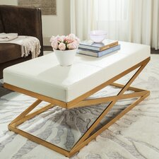 Ray Leather Entryway Bench