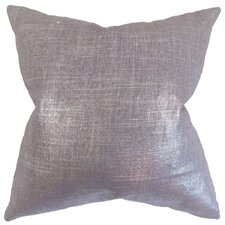 Dennings Solid Linen Blend Throw Pillow