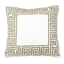 Mitchell Embroidered Cotton Throw Pillow