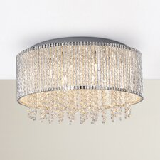 Joffe 7 Light Flush Mount