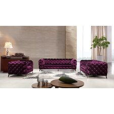 Forslund Sofa, Loveseat and Chair Set
