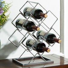 McDormand 6 Bottle Tabletop Wine Rack
