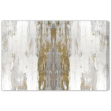 Sensation White Painting Print on Wrapped Canvas