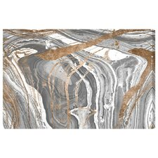 Marble Copper Graphic Art on Wrapped Canvas