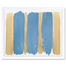 Blue Skies Framed Wall Art