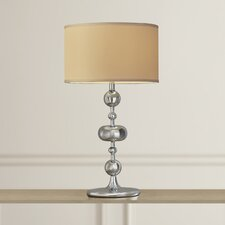 """Viola 27"""" H Table Lamp with Drum Shade (Set of 2)"""