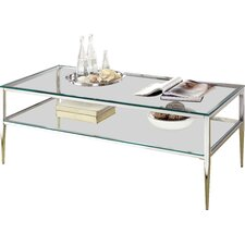 Travolta Open Shelf Coffee Table