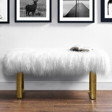 Norma Sheepskin Entryway Bench