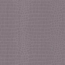 "Shamberg 33' x 20.5"" Crocodile Print 3D Embossed Wallpaper"