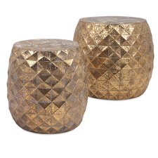 Lemke 2 Piece Stool Set