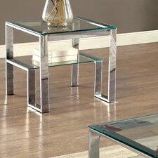 Scheider Stacked Shelf End Table