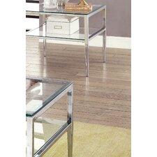 Travolta Open Shelf End Table