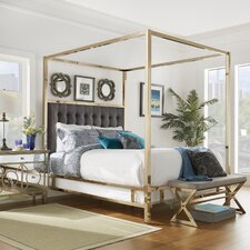 De Niro Upholstered Canopy Bed
