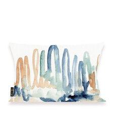 Violet Seaglass Thoughts Lumbar Pillow