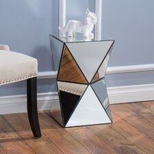 Eisenberg Mirrored Accent End Table