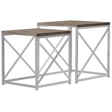 Derringer 2 Piece Nesting Tables
